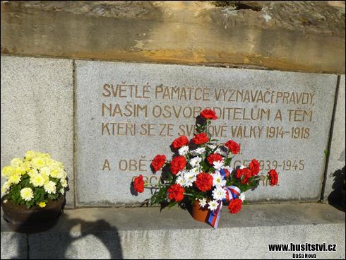 Spálené Poříčí - památník Jana Husa [foto: Dáša Nová, © www.husitstvi.cz]