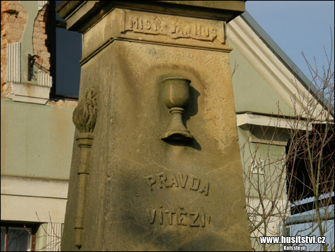Kozojedy – památník Jana Husa