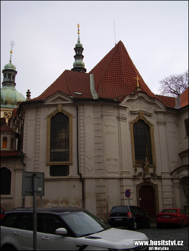 Praha - kostel sv. Vojtěcha ve Vojtěšské ulici