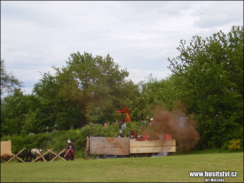 Rekonstrukce bitvy u Lipan (Lipany, 30.05.2015)