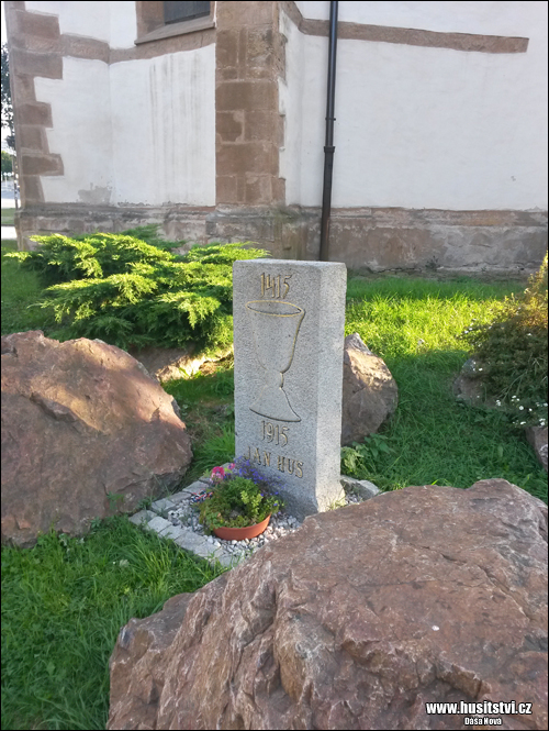 Starý Plzenec - památce Jana Husa