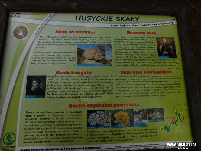 Husyckie skały (PL) - Husitské skály