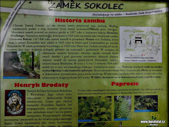 Sokolec (PL) - hrad