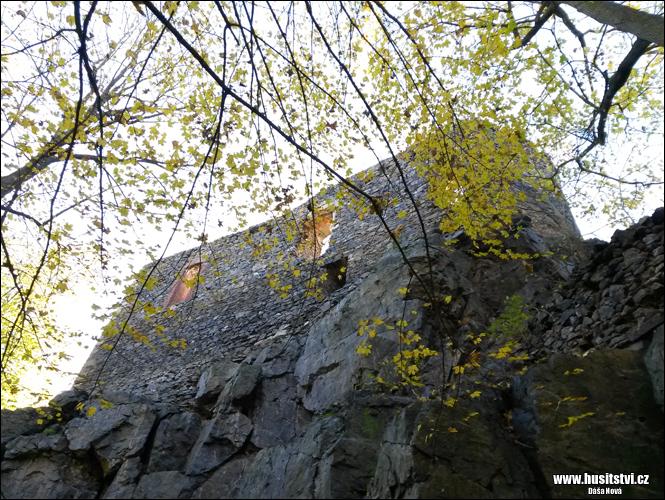 Vlčtejn - husitský hrad