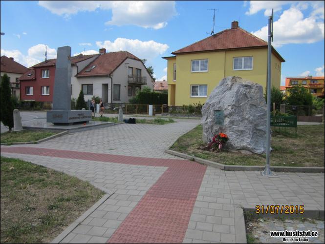 Brno - Soběšice - Památník Jana Husa