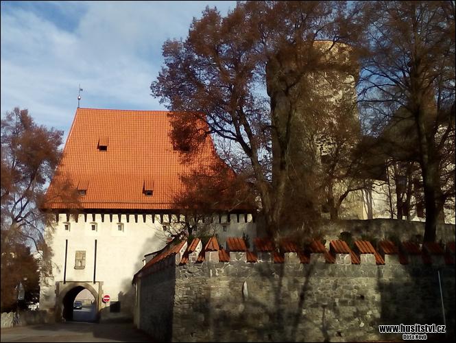 Tábor - hrad Kotnov a Bechyňská brána