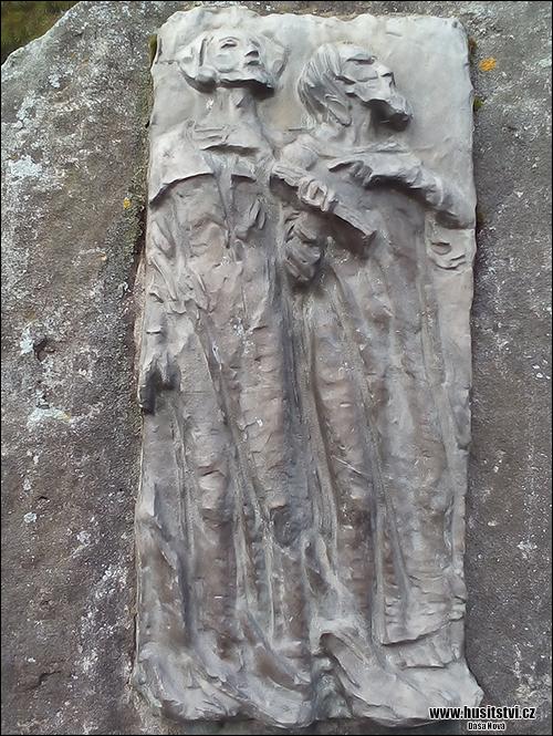 Tábor-Klokoty - pomník Táborským radikálům