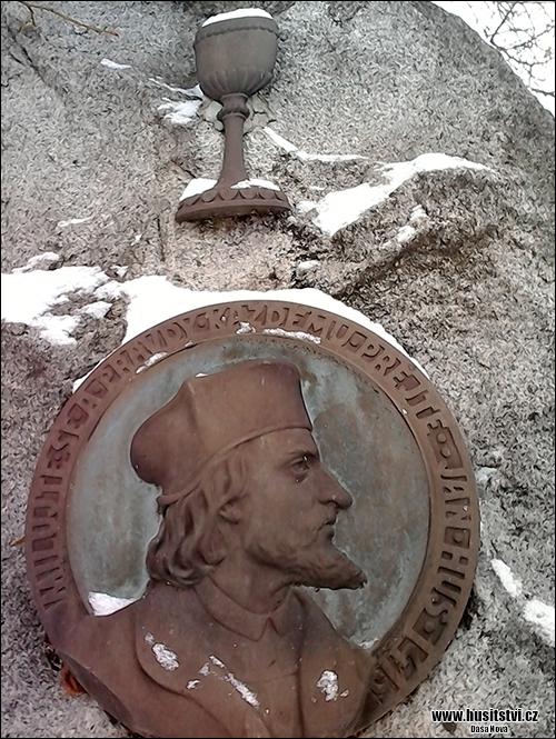 Blovice - památník Jana Husa