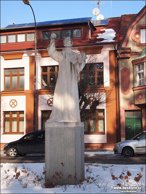 Benešov u Prahy – památník Jana Husa