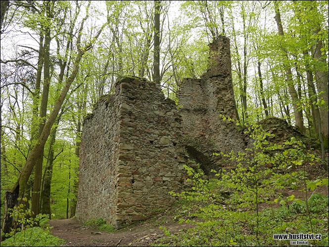 Oheb – zřícenina hradu