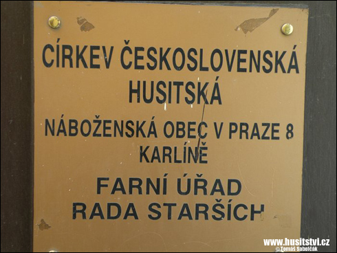 Praha - Karlín, Vítkova ul. (CČSH)