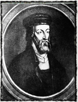 Jedno z mnoha vyobrazení anglického reformátora Johna Wycliffa (cca 1320 - 1384). copyright http://img.ct24.cz