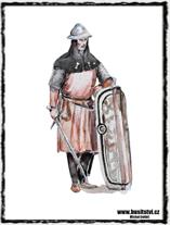 Husitský bojovník s mečem