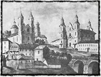 Vitebsk počátkem 19. století.