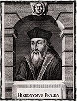 Jeroným Pražský (Johann Balzer, 18. století)