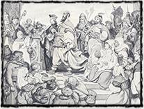 České poselstvo na basilejském koncilu (obraz V. Černý)
