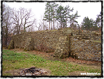 Sion - torzo fortifikačního systému hradu