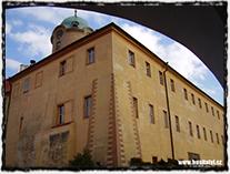 Poděbradský zámek na místě původního hradu, na němž se v roce 1420 s největší pravděpodobností narodil Jiřík z Poděbrad.