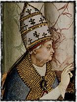 Aeneas Sylvius Piccolomini, papež Pius II. (obraz z počátku 16. st).