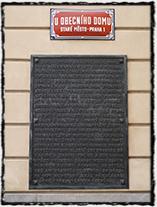 Husitský král Jiřík z Poděbrad vládl z Králova dvora na Starém městě pražském. Na zdi Obecního domu, jenž stojí na místě někdejšího Králova dvora, má dodnes pamětní desku.