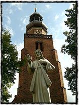 Bývalý bratrský kostel v polském Lešně.