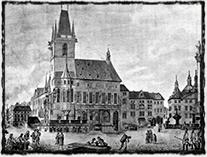 Staroměstská radnice, jedno z míst spojených s 2. pražskou defenestrací v r. 1483. (zdroj: www.milujuprahu.cz).
