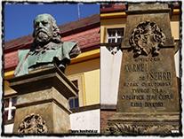 František Rous - pomník Viktorina Kornela ze Všehrd v Chrudimi.