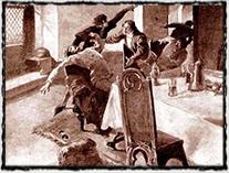 Smrt Václava IV. r. 1419.