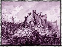 Bitva na Vítkově (obraz Adolfa Liebschera)