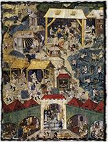Těžba stříbra v Kutné Hoře na knižní malbě ze sklonku 15. století.