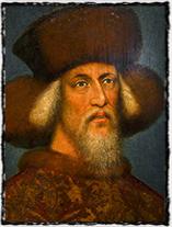 Stárnoucí Zikmund na obraze, který je tradičně připisován italskému malíři Pisanellovi.